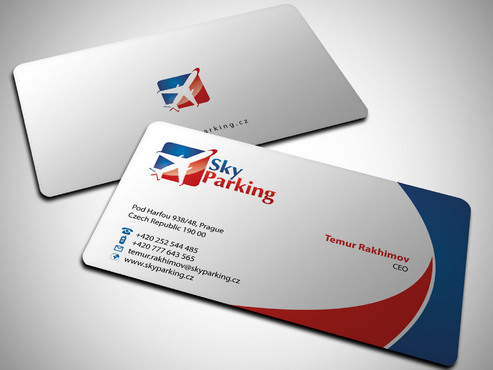 Sky Parking s.r.o. Business Cards and Stationery  Draft # 25 by Xpert