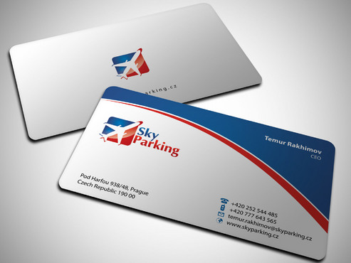 Sky Parking s.r.o. Business Cards and Stationery  Draft # 26 by Xpert