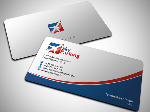 Sky Parking s.r.o. Business Cards and Stationery  Draft # 27 by Xpert