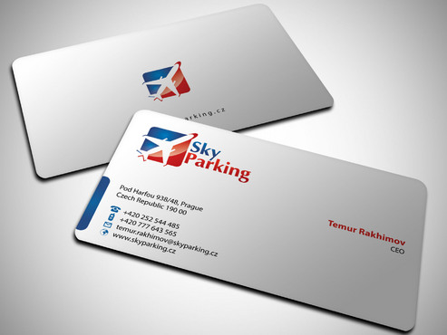 Sky Parking s.r.o. Business Cards and Stationery  Draft # 28 by Xpert