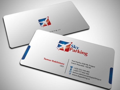 Sky Parking s.r.o. Business Cards and Stationery  Draft # 29 by Xpert