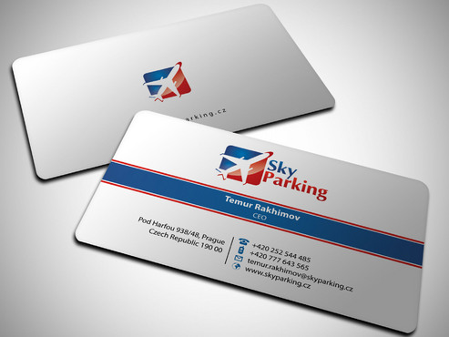 Sky Parking s.r.o. Business Cards and Stationery  Draft # 30 by Xpert