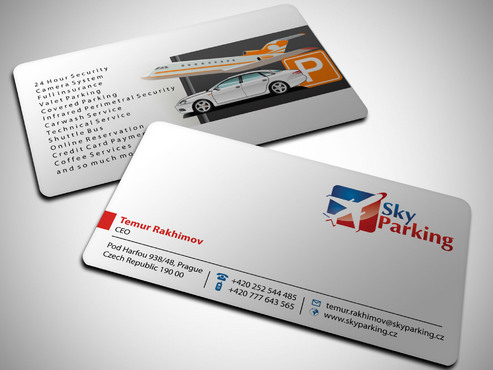 Sky Parking s.r.o. Business Cards and Stationery  Draft # 34 by Xpert