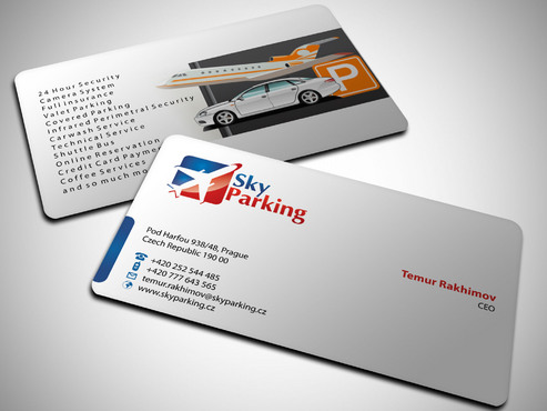 Sky Parking s.r.o. Business Cards and Stationery  Draft # 35 by Xpert
