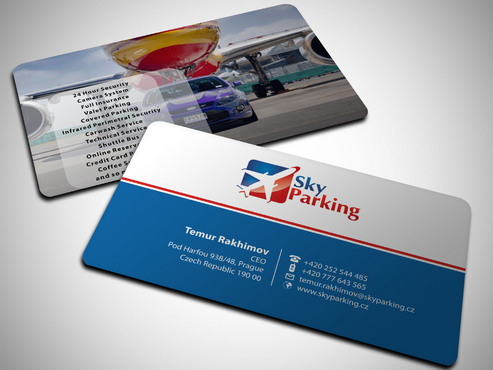 Sky Parking s.r.o. Business Cards and Stationery  Draft # 36 by Xpert