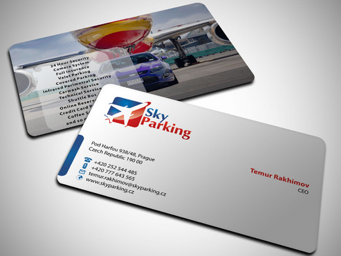 Sky Parking s.r.o. Business Cards and Stationery  Draft # 52 by Xpert