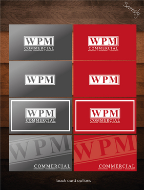 WPM Commercial Business Cards and Stationery  Draft # 49 by sevensky