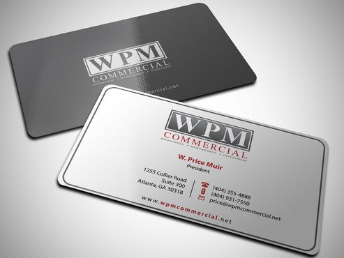 WPM Commercial Business Cards and Stationery  Draft # 52 by Xpert