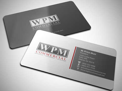 WPM Commercial Business Cards and Stationery  Draft # 54 by Xpert