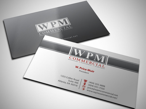 WPM Commercial Business Cards and Stationery  Draft # 56 by Xpert