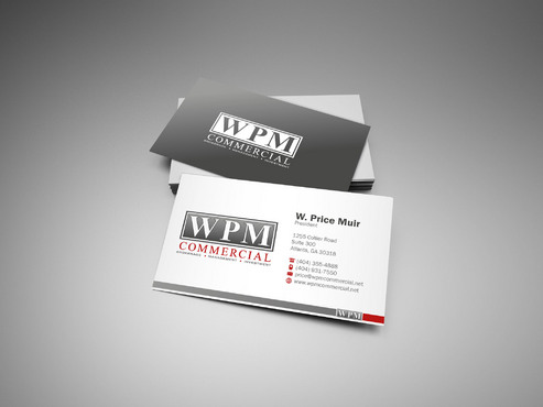WPM Commercial Business Cards and Stationery  Draft # 57 by sevensky