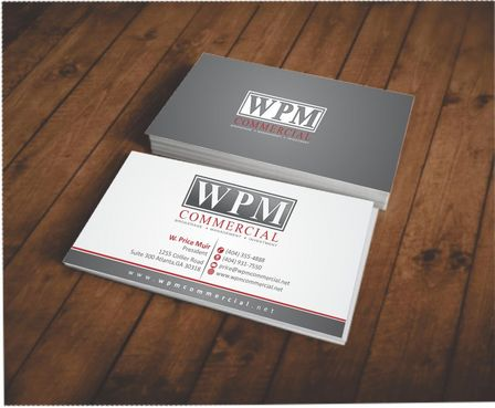 WPM Commercial Business Cards and Stationery  Draft # 124 by Deck86