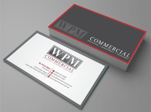 WPM Commercial Business Cards and Stationery  Draft # 125 by Deck86