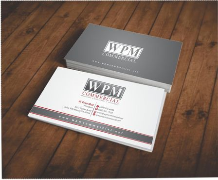 WPM Commercial Business Cards and Stationery  Draft # 126 by Deck86