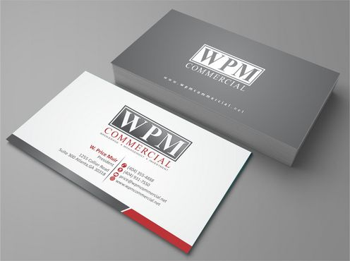 WPM Commercial Business Cards and Stationery  Draft # 127 by Deck86