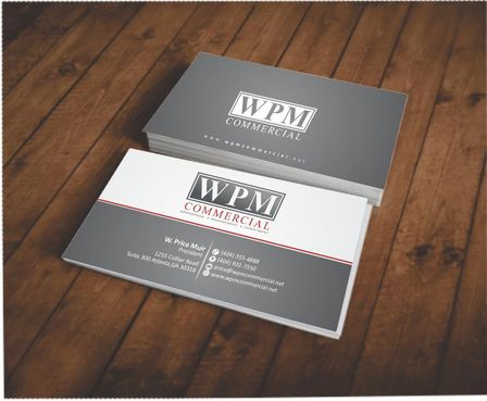 WPM Commercial Business Cards and Stationery  Draft # 134 by Deck86