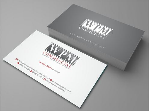 WPM Commercial Business Cards and Stationery  Draft # 151 by Deck86