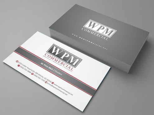 WPM Commercial Business Cards and Stationery  Draft # 150 by Deck86