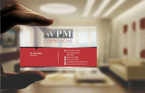 WPM Commercial Business Cards and Stationery  Draft # 152 by Deck86