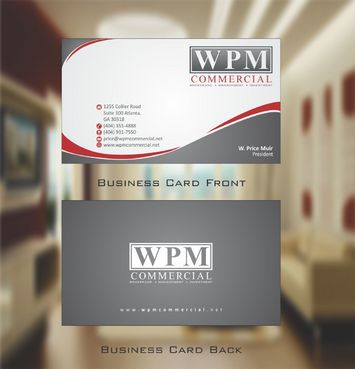WPM Commercial Business Cards and Stationery  Draft # 153 by Deck86