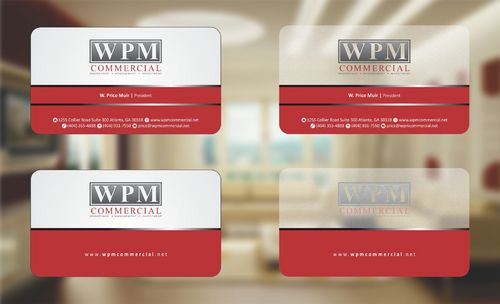 WPM Commercial Business Cards and Stationery  Draft # 154 by Deck86