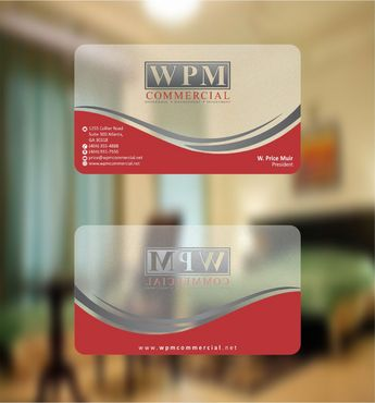 WPM Commercial Business Cards and Stationery  Draft # 155 by Deck86