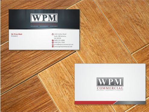 WPM Commercial Business Cards and Stationery  Draft # 157 by Deck86