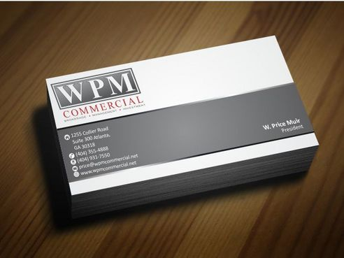 WPM Commercial Business Cards and Stationery  Draft # 160 by Deck86