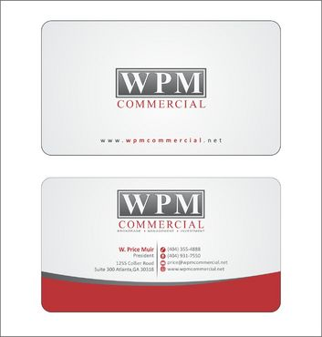 WPM Commercial Business Cards and Stationery  Draft # 159 by Deck86