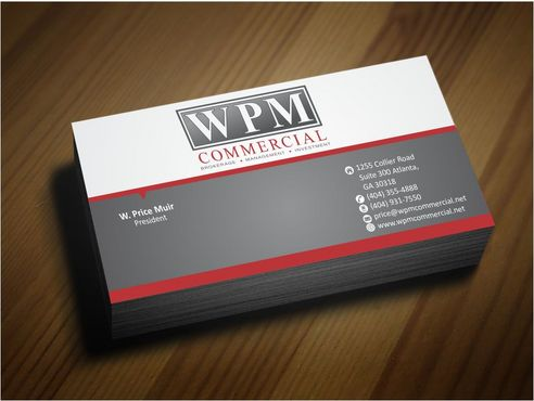 WPM Commercial Business Cards and Stationery  Draft # 162 by Deck86