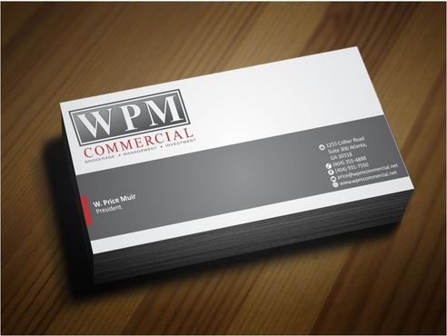 WPM Commercial Business Cards and Stationery  Draft # 165 by Deck86