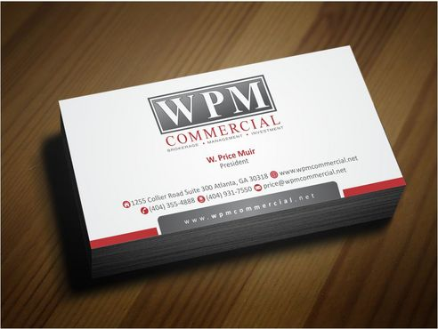 WPM Commercial Business Cards and Stationery  Draft # 167 by Deck86