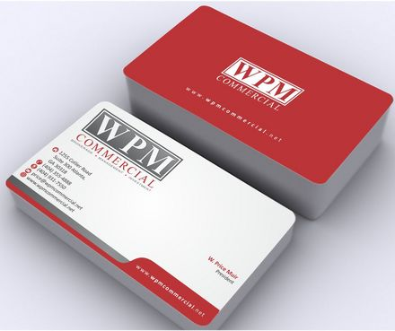 WPM Commercial Business Cards and Stationery  Draft # 171 by Deck86