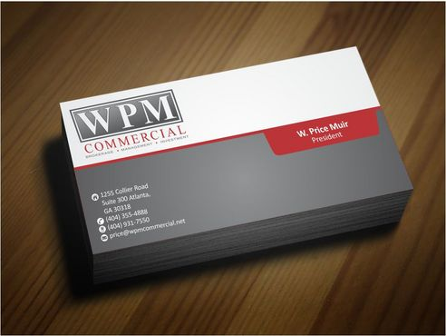 WPM Commercial Business Cards and Stationery  Draft # 184 by Deck86