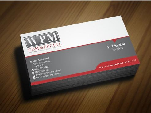 WPM Commercial Business Cards and Stationery  Draft # 185 by Deck86