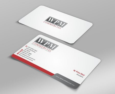 WPM Commercial Business Cards and Stationery  Draft # 186 by Deck86
