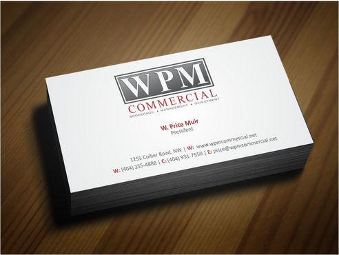 WPM Commercial Business Cards and Stationery  Draft # 198 by Deck86