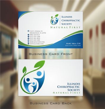 Illinois Chiropractic Society Business Cards and Stationery  Draft # 140 by Deck86