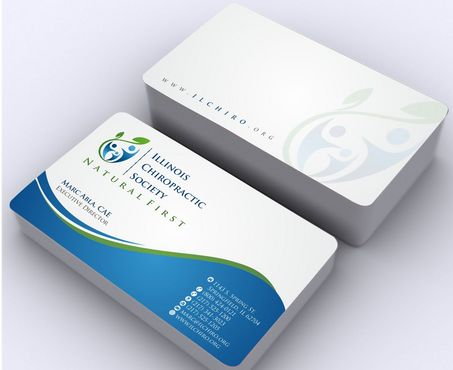 Illinois Chiropractic Society Business Cards and Stationery  Draft # 162 by Deck86