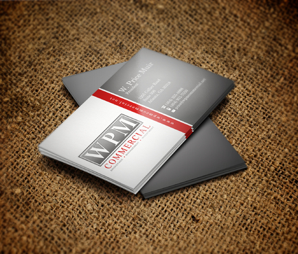 WPM Commercial Business Cards and Stationery  Draft # 218 by sevensky