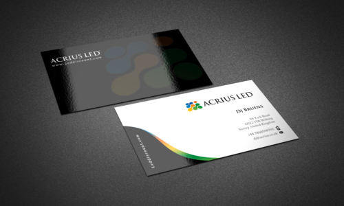 Stationary for LED company