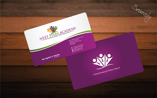 Business card and stationery for School Business Cards and Stationery  Draft # 34 by sevensky