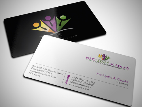 Business card and stationery for School Business Cards and Stationery  Draft # 37 by Xpert