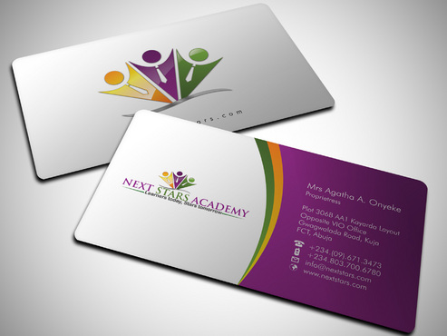 Business card and stationery for School Business Cards and Stationery  Draft # 38 by Xpert