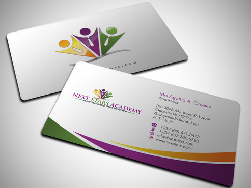 Business card and stationery for School Business Cards and Stationery  Draft # 39 by Xpert
