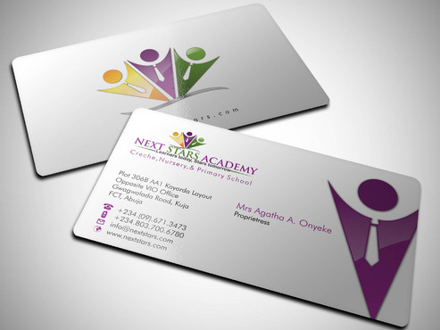 Business card and stationery for School Business Cards and Stationery  Draft # 61 by Xpert