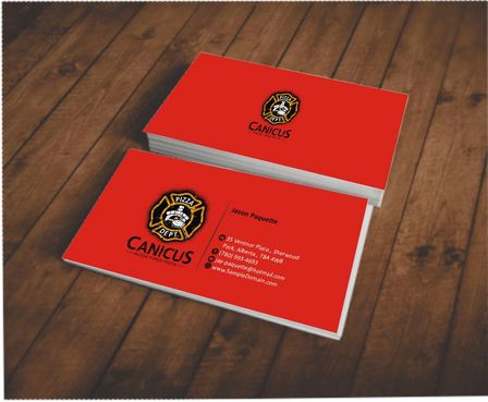 Canicus Business Cards and Stationery  Draft # 59 by Deck86