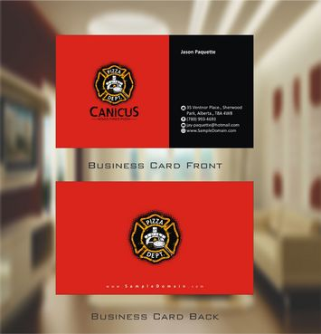 Canicus Business Cards and Stationery  Draft # 81 by Deck86