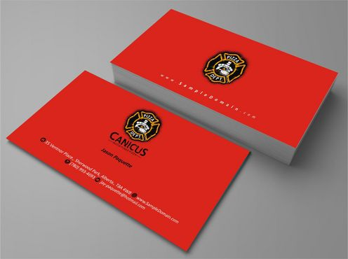 Canicus Business Cards and Stationery  Draft # 83 by Deck86
