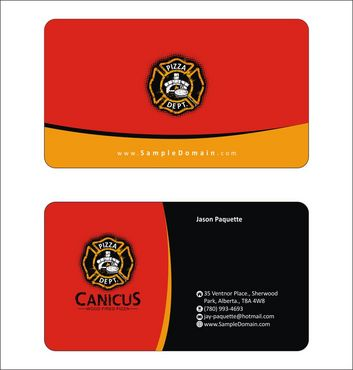 Canicus Business Cards and Stationery  Draft # 89 by Deck86